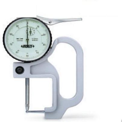 Đồng hồ đo độ dày của ống kiểu cơ INSIZE , 2367-10A, 0-10mm / 0.01mm