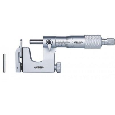Panme cơ khí đầu đo thay thế được INSIZE 3262-25A (0-25mm; 0.01mm)
