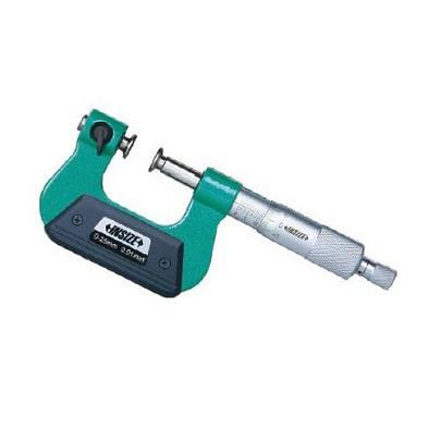 Panme đo ngoài đầu đo di động không xoay INSIZE 3280-25A (0-25mm)