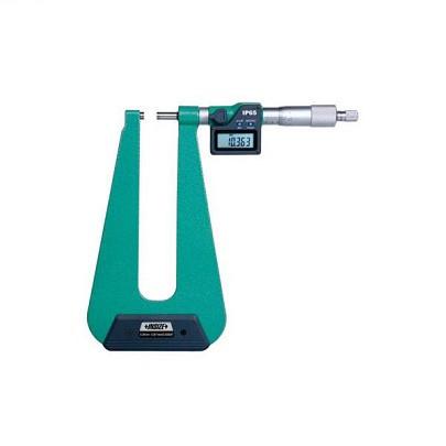 """Panme đo chiều dày tấm kim loại điện tử INSIZE 3539-253A (0-25mm/0-1"""")"""