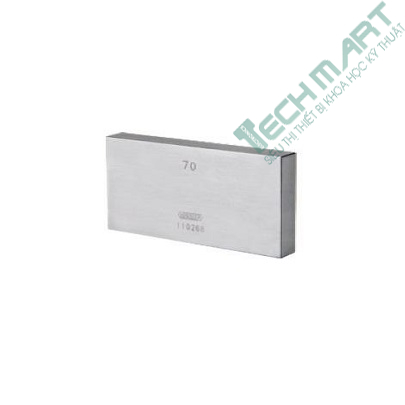 Căn mẫu thép INSIZE 4101-C50 (Grade 2, 50mm)