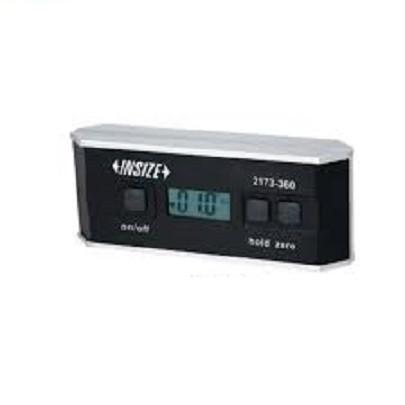 Nivo cân máy điện tử tích hợp đo góc INSIZE 2173-360 (0 - 360/0.1°, đế rãnh chữ V)