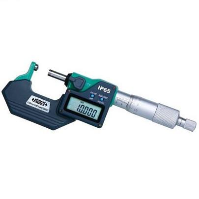 Panme đo độ dày ống điện tử INSIZE 3560-100SA (75-100mm/đầu đo hình cầu)