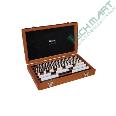 Bộ căn mẫu sứ INSIZE 4105-147 (Cấp 1, 47 khối/bộ)