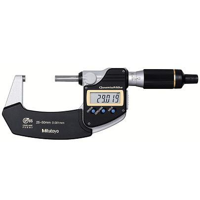 Panme đo ngoài điện tử chống nước Mitutoyo 293-141-30 (25-50mm/0.001mm, 2mm/vòng xoay)