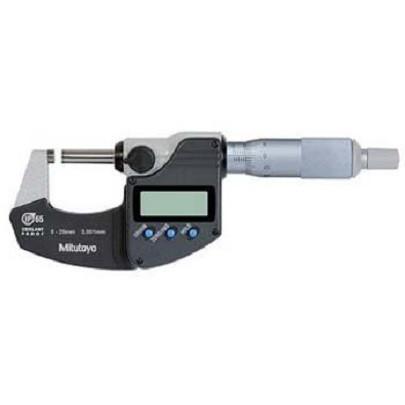 Panme đo ngoài điện tử chống nước Mitutoyo 293-240-30 (0-25mm/0.001mm)