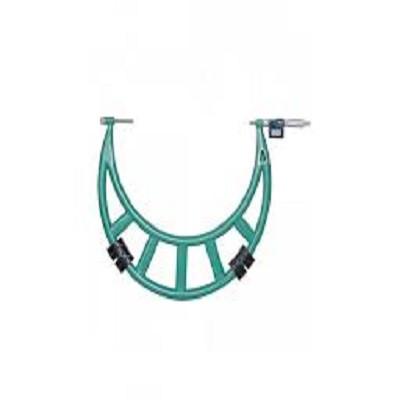 Panme đo ngoài điện tử với phần đe có thể hoán đổi được.Insize 3506-500A 400-500mm/0.001mm