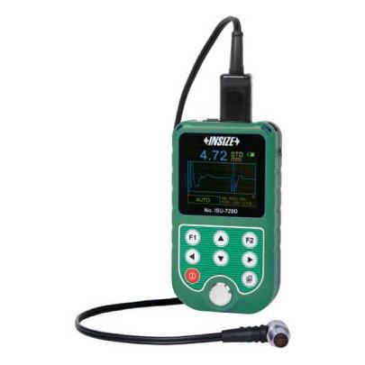 Máy đo độ dày bằng siêu âm INSIZE ISU-720D ((T-E): 1.5-200mm; (E-E): 3-25mm)