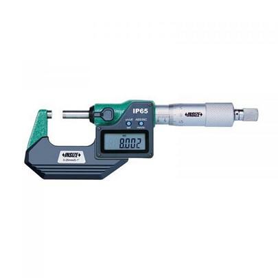 Panme đo ngoài điện tử INSIZE 3101-25AJ (0-25mm; 0.001mm; có đầu ra dữ liệu)