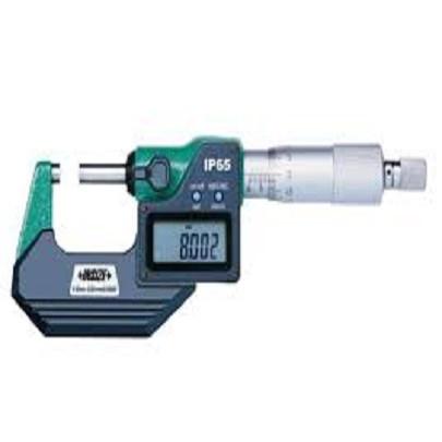 Panme đo ngoài điện tử INSIZE 3101-25FA (0-25mm; Có đầu ra dữ liệu)