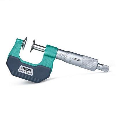 Panme đo bước răng INSIZE 3294-75 (50-75mm/đầu đo di động không xoay)