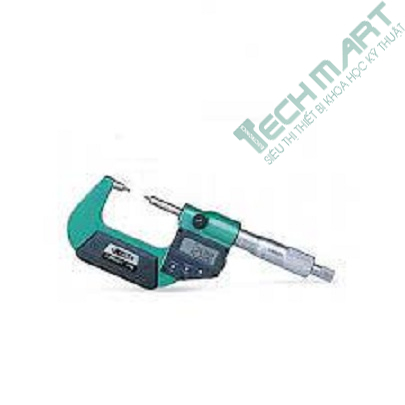 Panme đo kẹp thành ống điện tử Insize 3561-25CA